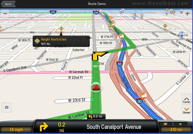 Rand Mcnally Gps >> Copilot Live Truck 9 routing laptop GPS system software for truckers