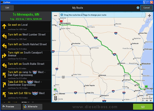 Copilot Live Truck Gps For Windows Laptop Version 10 Route