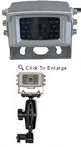 Camera for viewing on GPS screen