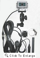 Complete GPS rear view truck camera system for Rand McNally TND 720