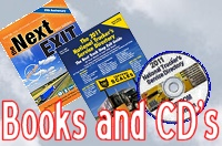 Truck stop book, Exit guide books and CD's - Truckers Friend and Service directory books
