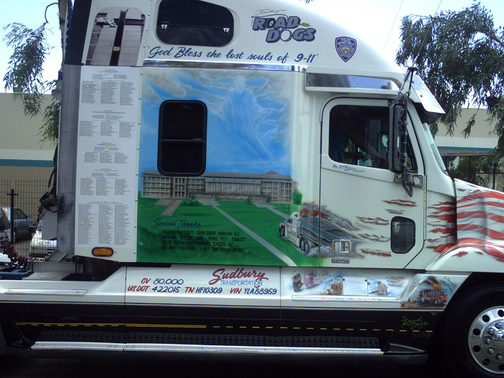 Pictures Of 911 Tribute Paint Trucks Page 1