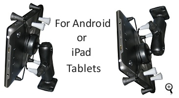 Android or iPad dash mount for semi truck