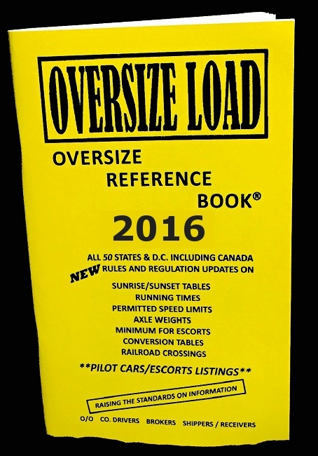 Rand Mcnally Gps >> The 2016 oversize load and heavy haul reference guide book ...