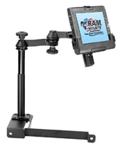 Ram vehicle laptop mount