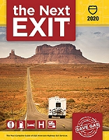 2018 The Next Exit highway guide book for truckers and RV travelers