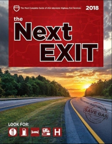 The next exit highway and intertate trucker and rv guide book