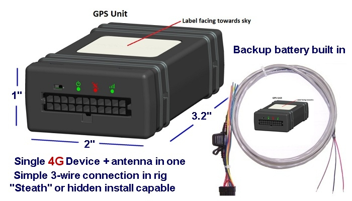 Gps Truck Tracking System Device For Vehicle And