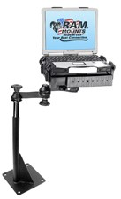Ram floor mount laptop stand - bolt-in style