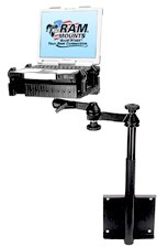 Ram vertical or wall compter mount / tray / stand