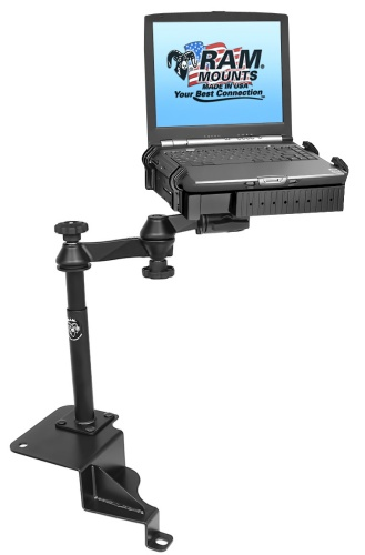 ram laptop mount bracket desk for jeep liberty and dodge nitro. Cars Review. Best American Auto & Cars Review