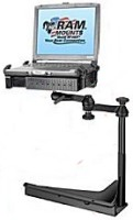Truck laptop stand for Sears  and Captain's Seating rigs