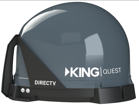 King Dish Tailgater And Quest Satellite Tv System For Semi